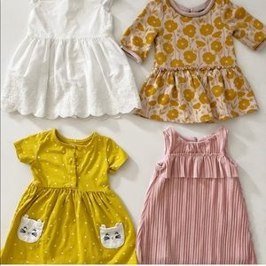 Bundle of 4 dresses